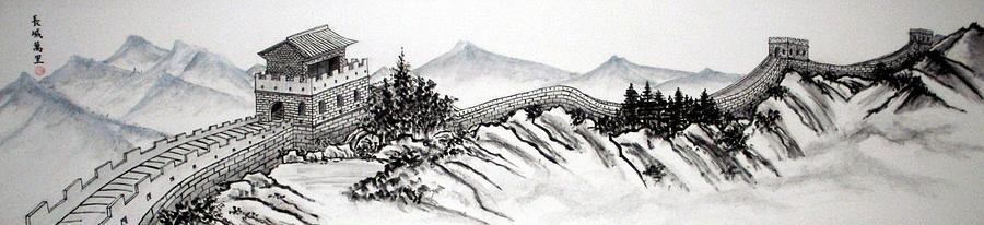 рисунки черно белые китайской стены мужской депиляции отзыв