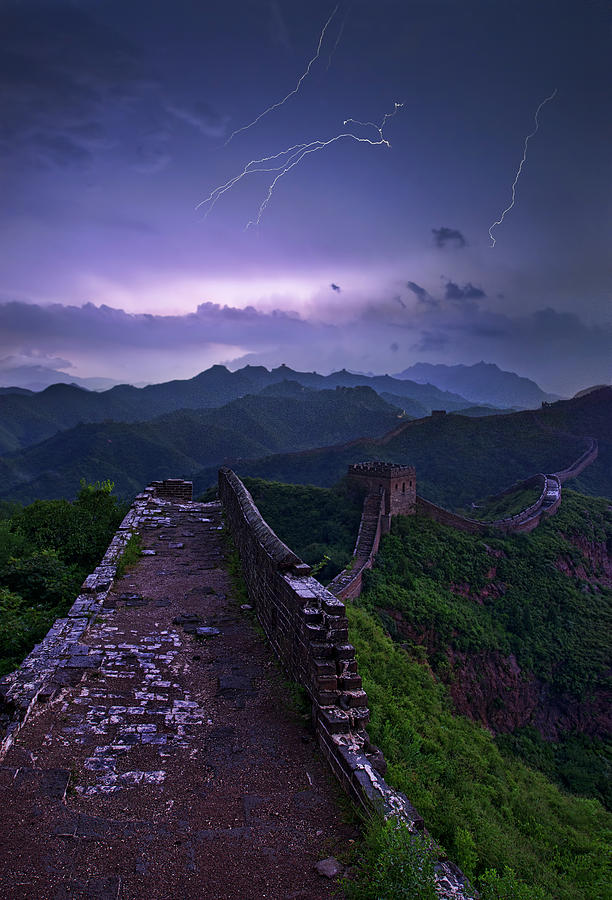 China Photograph - Great Wall by Yan Zhang
