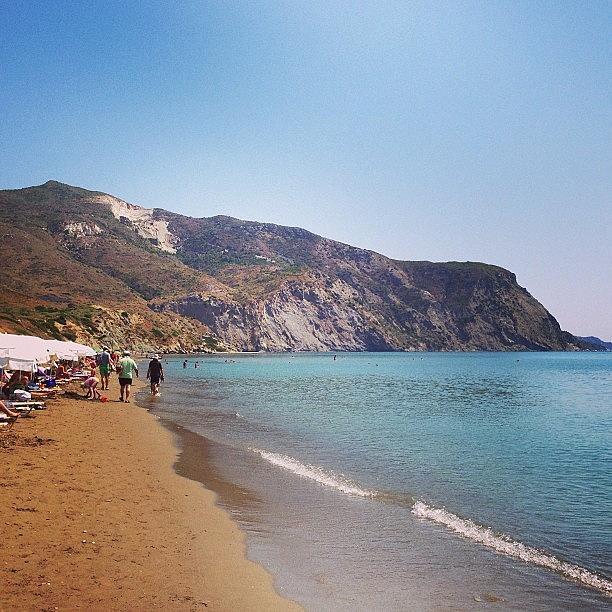 Summer Photograph - #greece #zante #zakynthos #beach by Lorena Chavarro