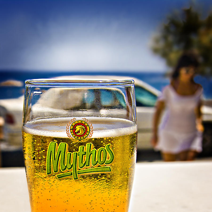 Greece Photograph - Greek Beer Goggles by Meirion Matthias