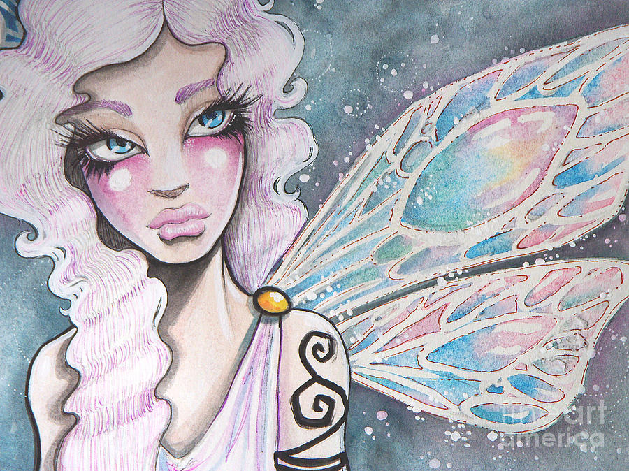 Fairy Painting - Greek Fairy by Margie Forestier