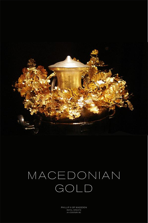 Ancient Greece Digital Art - Greek Gold - Macedonian Gold by Helena Kay