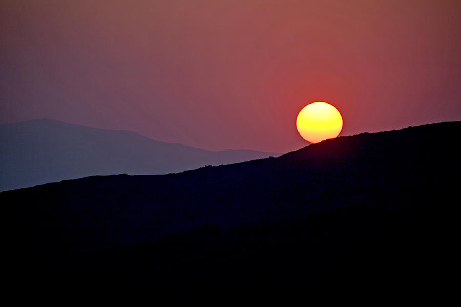 Greece Photograph - Greek Sunset by Frits Selier