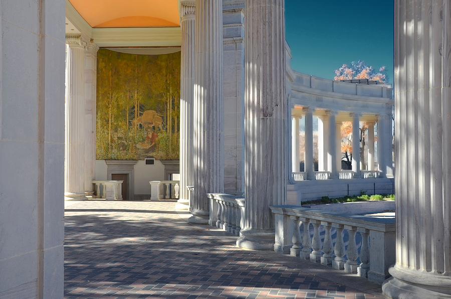 Greek Mixed Media - Greek Theatre 2 by Angelina Vick