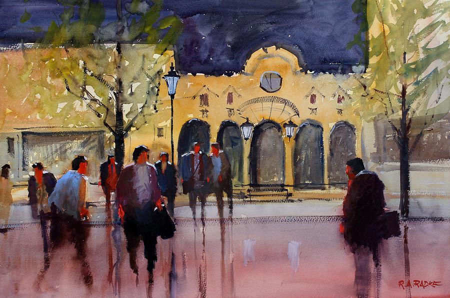 Green Bay Nights Painting