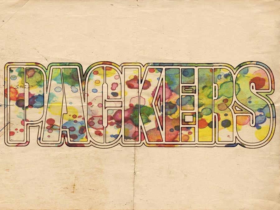 Green Bay Packers Logo Art Painting by Florian Rodarte 19e753bbf