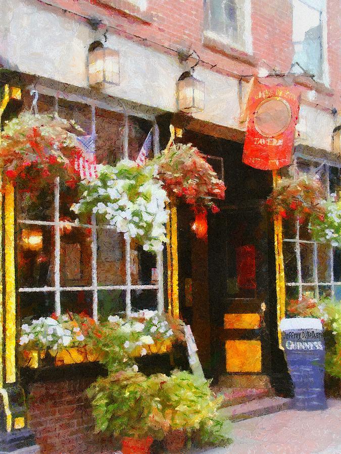 Bar Painting - Green Dragon Tavern by Jeff Kolker