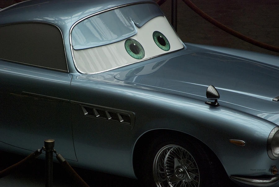Lightning Mcqueen Photograph - Green Eyed Finn Mcmissile by Thomas Woolworth
