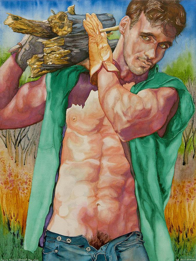 Green Lumberjack by Xavier Francois