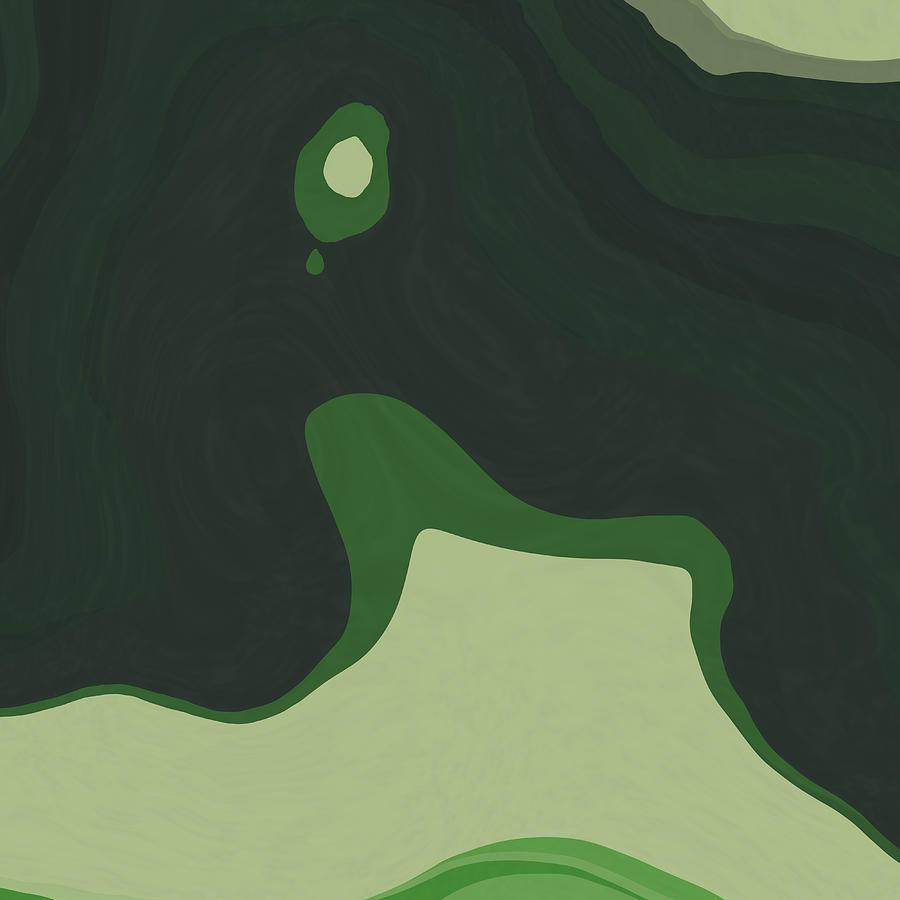 Green Mind 5 Digital Art