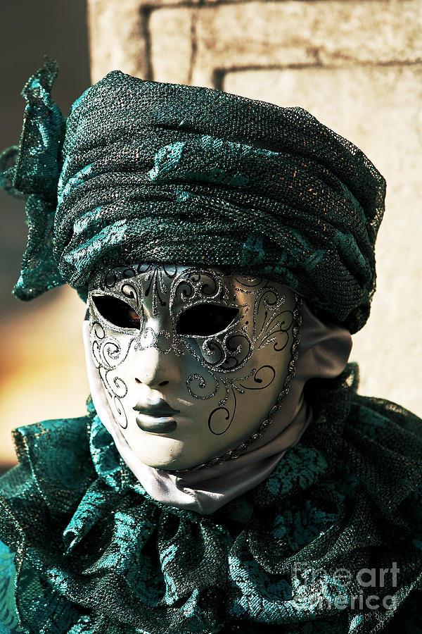 Italy Photograph - Green Model by John Rizzuto