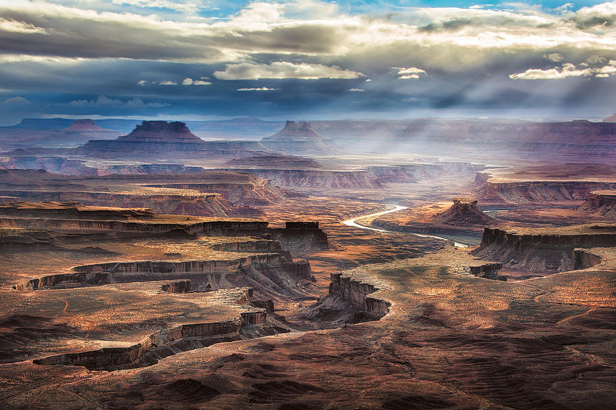 Green River Photograph - Green River Overlook by Michael Ash