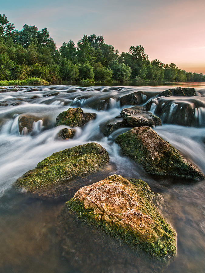 Landscapes Photograph - Green Rocks by Davorin Mance