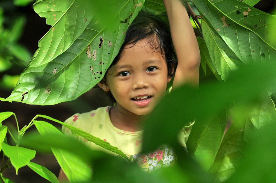 Green Photograph - Green Smile by Achmad Bachtiar