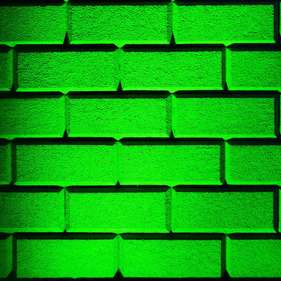 Green Photograph - Green Wall by Semmick Photo