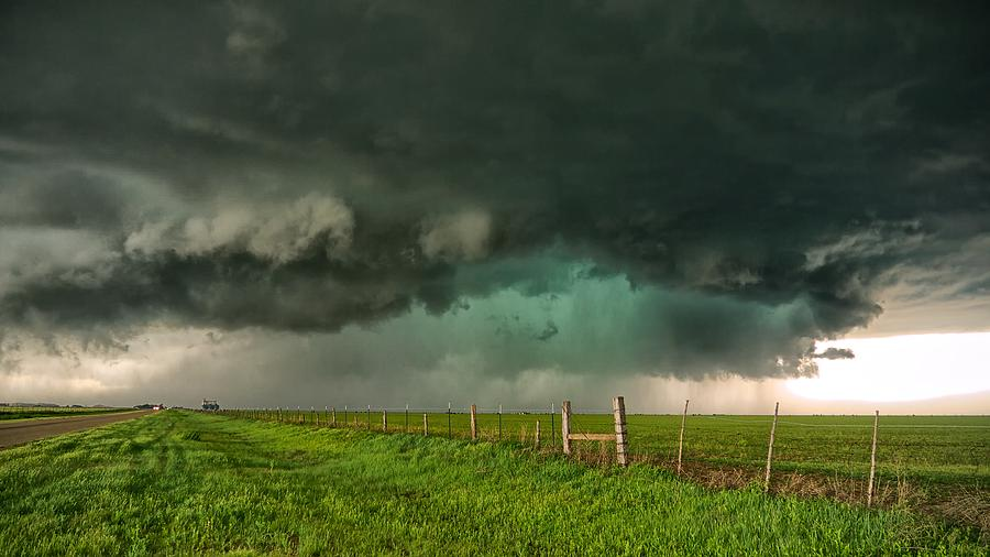 Storm Photograph - Greenage by Chris Sanner