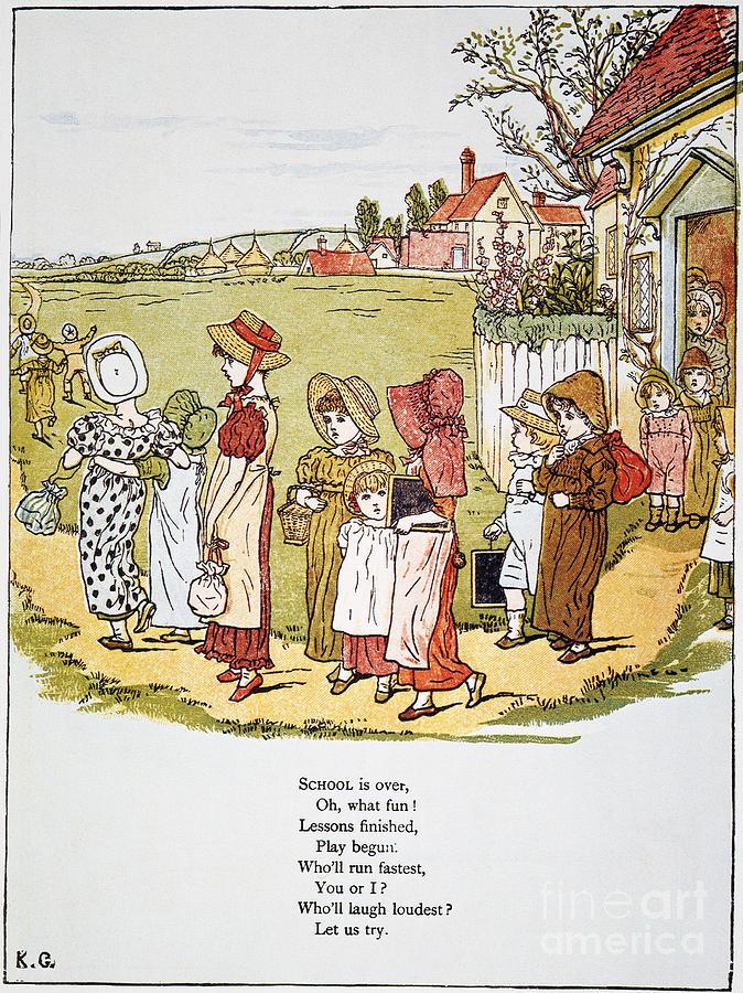 1879 Photograph - Greenaway: Illustration by Granger