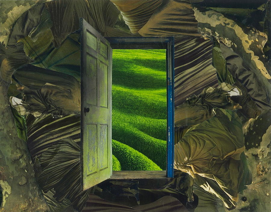 Greener Pastures Mixed Media - Greener Pastures by Denise Mazzocco