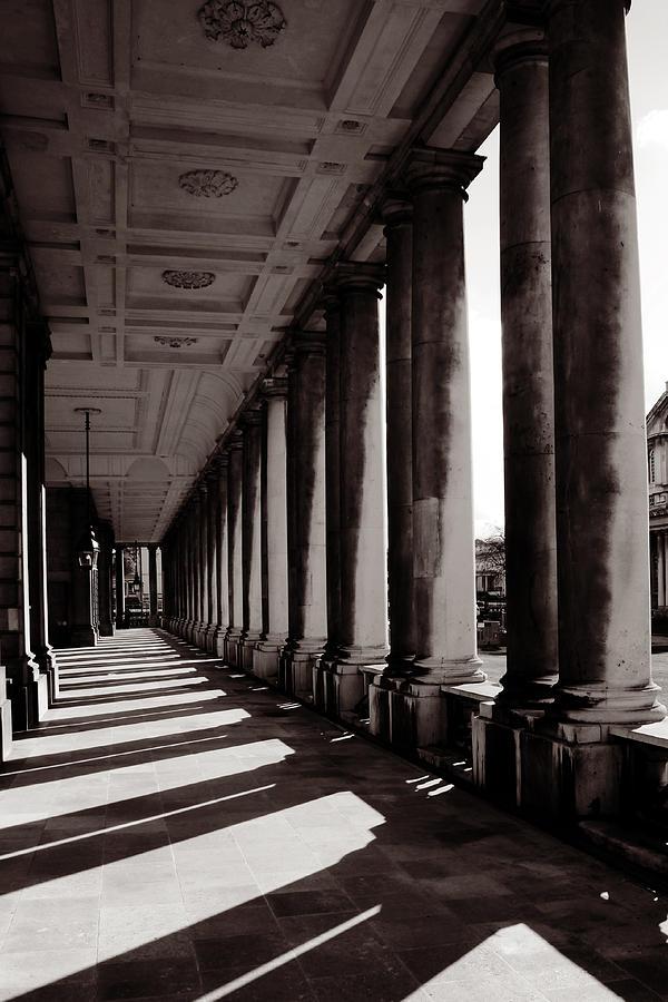 Greenwich Photograph - Greenwich Pillars by Dan Davidson