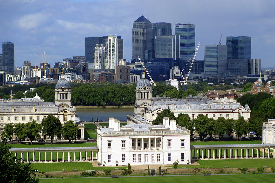 Greenwich Photograph - Greenwich View by Donald Turner