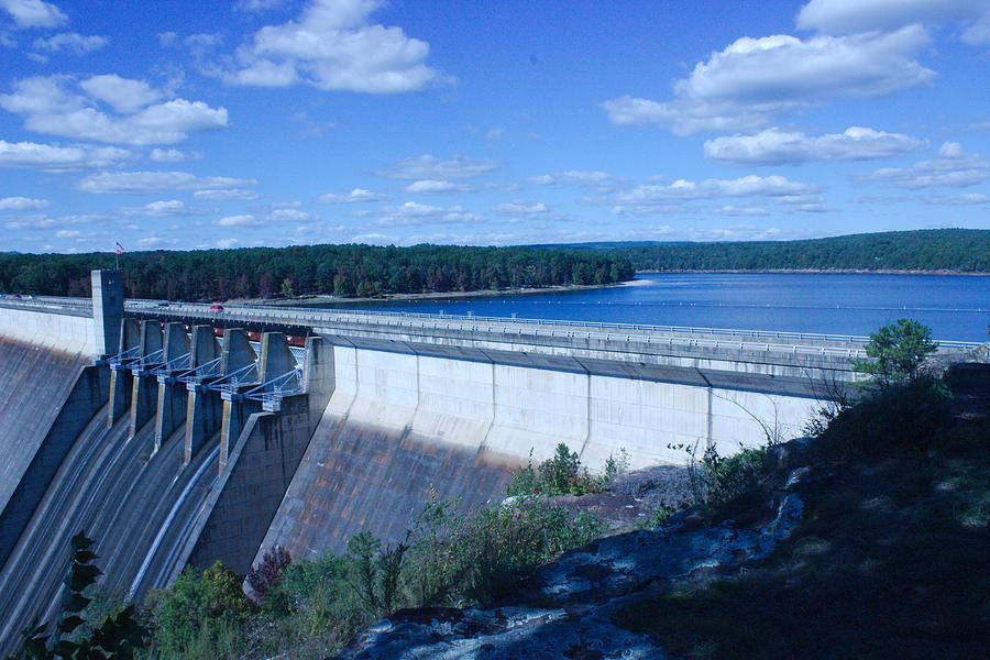 Dam Photograph - Greers Ferry Dam by Edward Hamilton