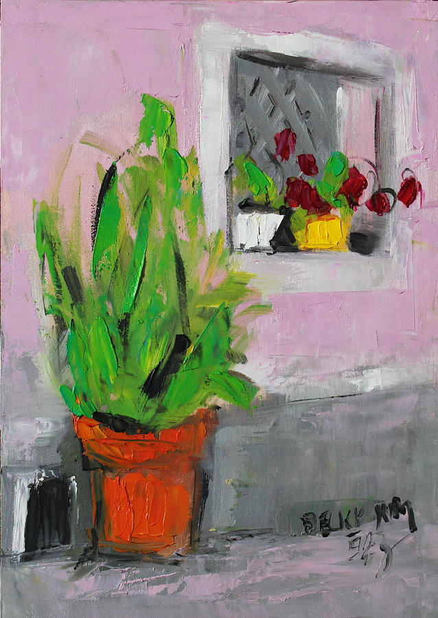 Still Life Painting - Greeting by Becky Kim