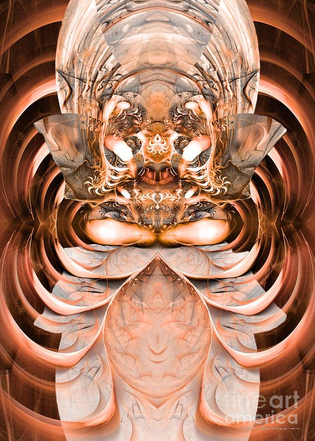 Surrealism Digital Art - Greetings Inhabitants Of Earth by Sipo Liimatainen