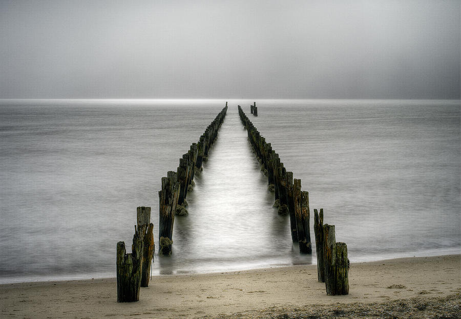 Grey Dawn Photograph by Russell Brown