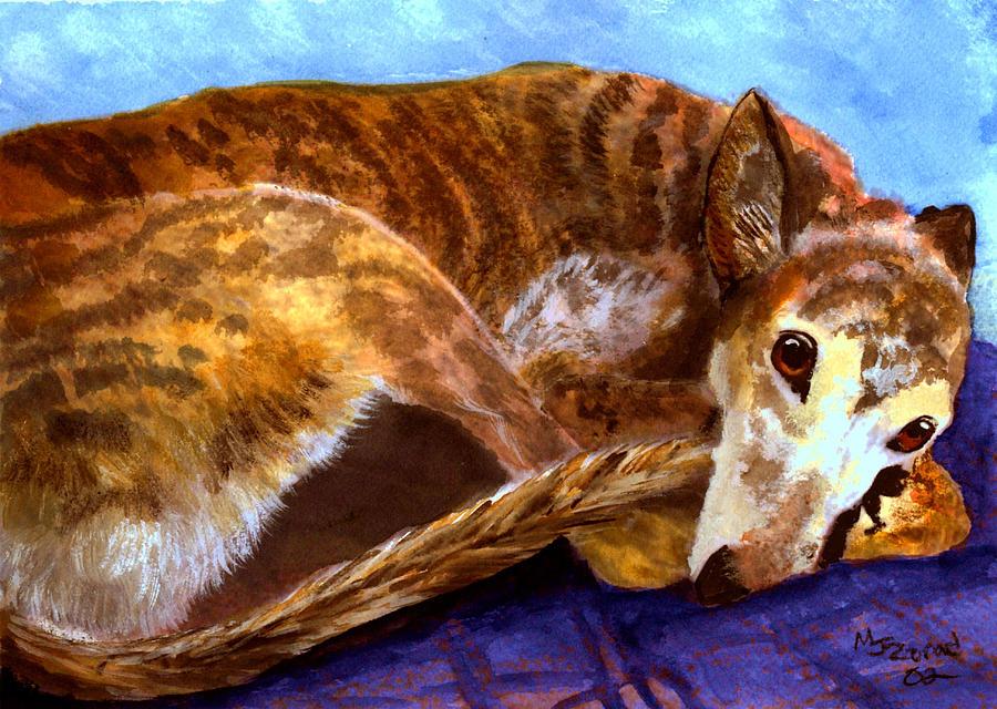 Greyhound Print  by Mary Jo Zorad