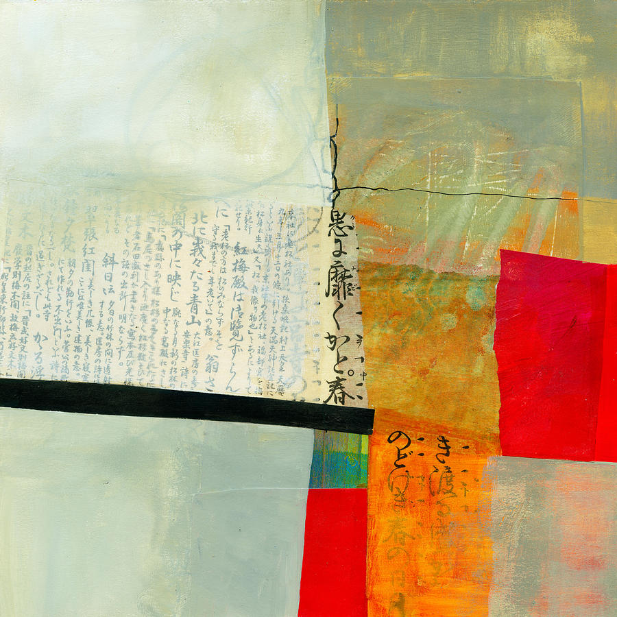 Jane Davies Painting - Grid 1 by Jane Davies