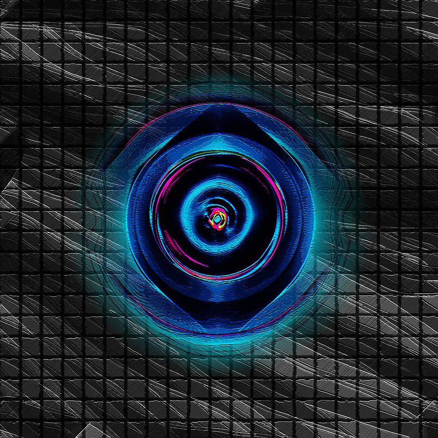 Grid Digital Art by Coal