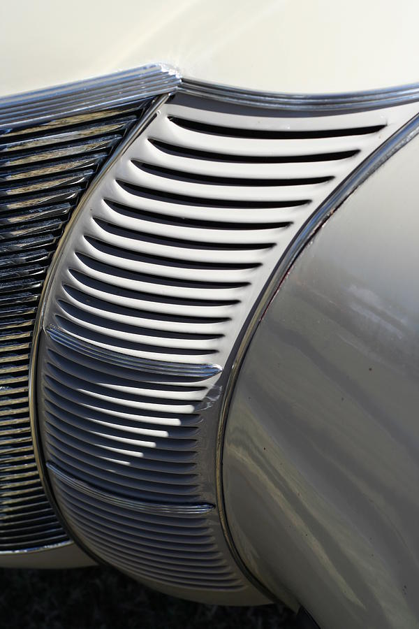 Automobile Photograph - Grill Work by Joe Kozlowski
