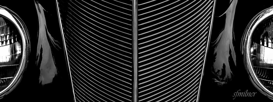 Abstracts Photograph - Grill Works by Steven Milner