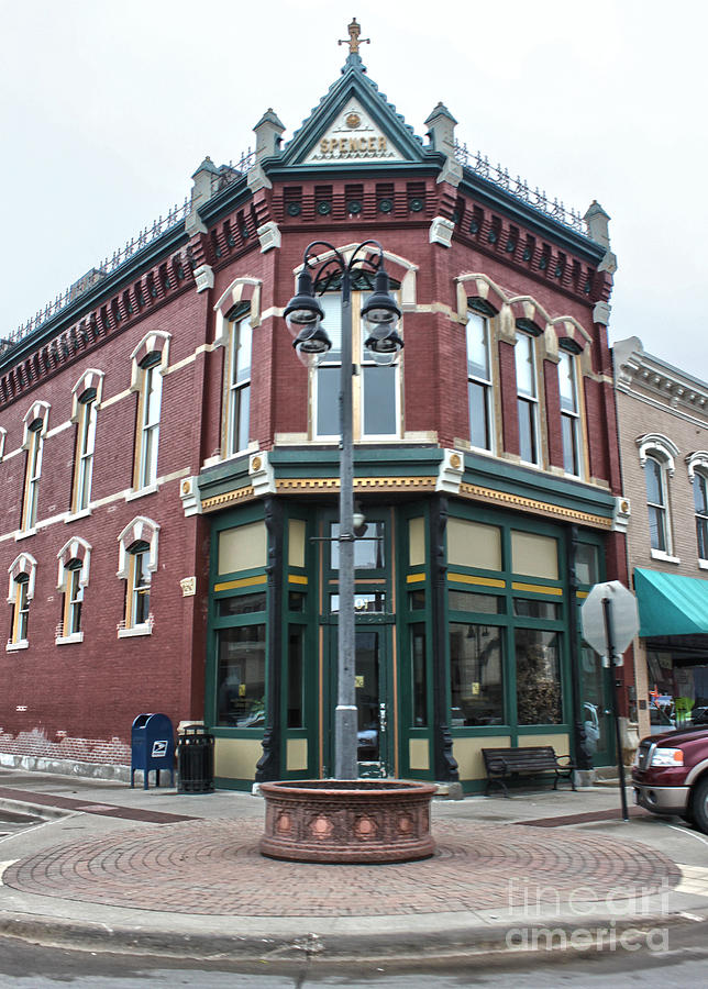 Grinnell Iowa Photograph - Grinnell Iowa - Downtown - 03 by Gregory Dyer