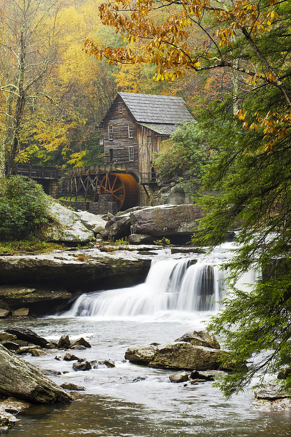Mill Photograph - Grist Mill No. 2 by Harry H Hicklin