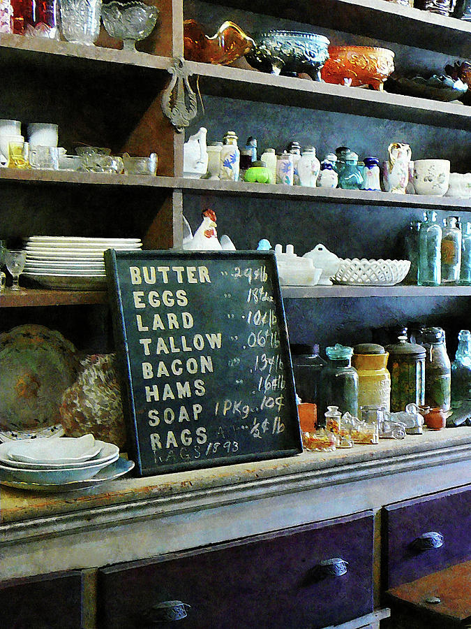 Store Photograph - Groceries In General Store by Susan Savad