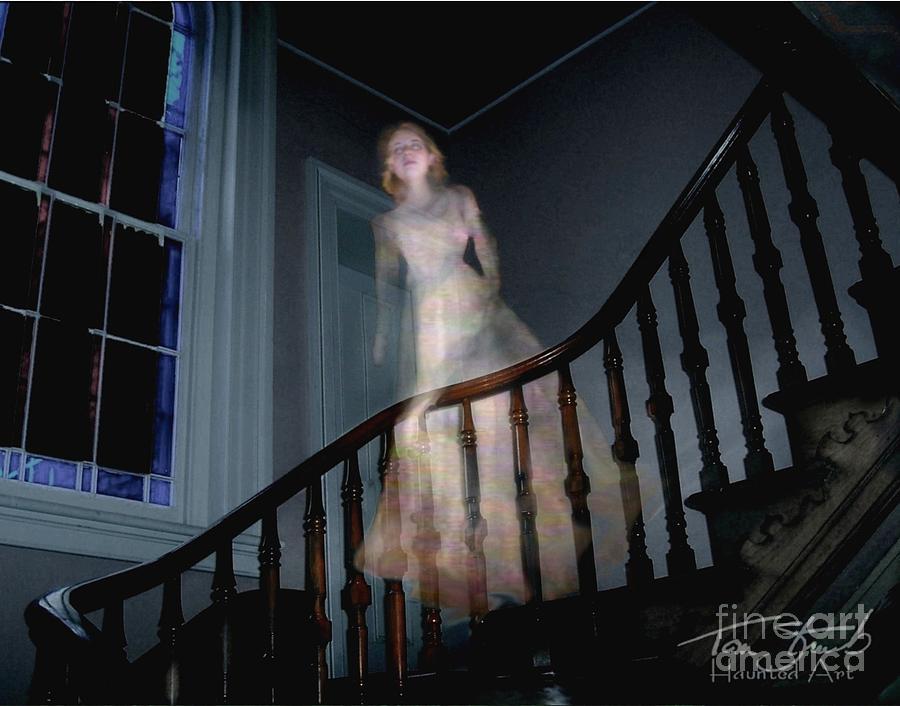 Paranormal Photograph - Grosvenor Ghost by Tom Straub