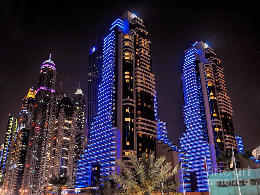 Dubai Photograph - Grosvenor House In Dubai by Graham Taylor