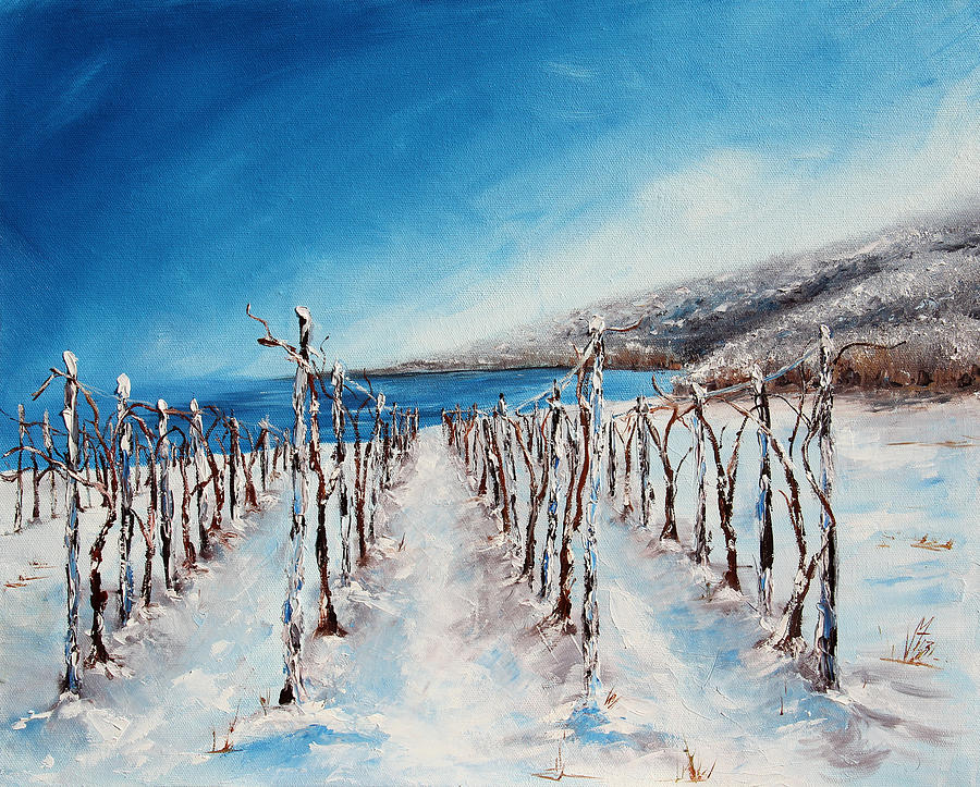 Winter Painting - Grounded by Meaghan Troup