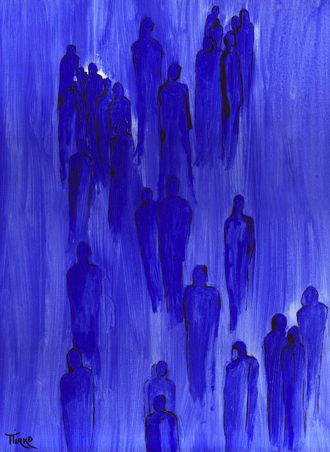 People Painting - Group 23 - 1997 by Mirko Gallery