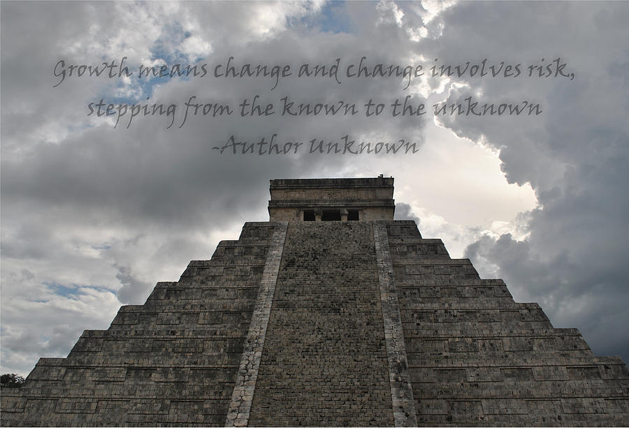 Chichen Itza Photograph - Growth by BandC  Photography