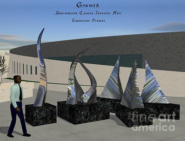 Growth Sculpture - Growth by Peter Piatt