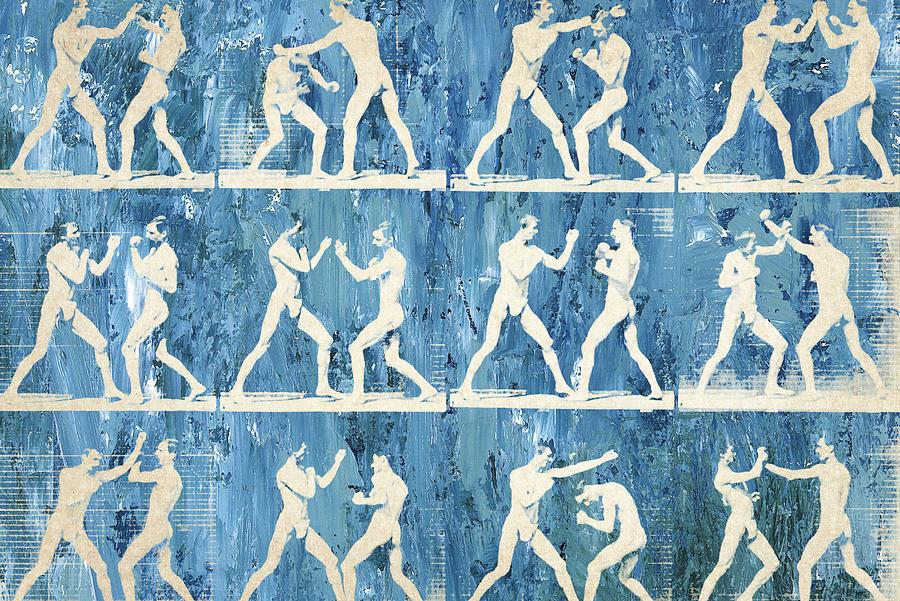 Boxer Digital Art - Grudge Match by Aged Pixel