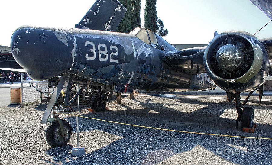 Aircraft Photograph - Grumman Tigercat F7f-3n  -  03 by Gregory Dyer