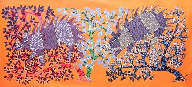 Gsds 01 Painting by Shambu Dayal Shyam