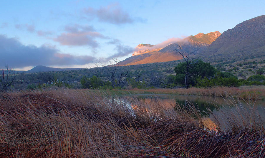 Guadalupe Mountains Photograph - Guadalupe Mountains Sunrise by Stephen  Vecchiotti