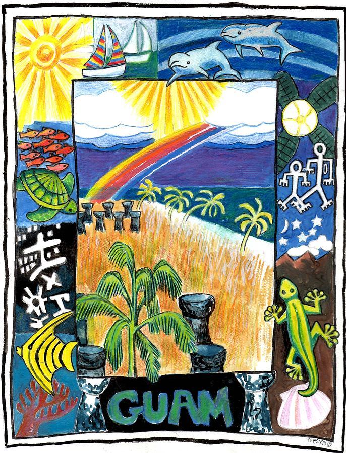 Guam Painting - Guam by Genevieve Esson