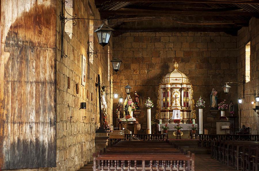 Religion Photograph - Guane Church by Jess Kraft