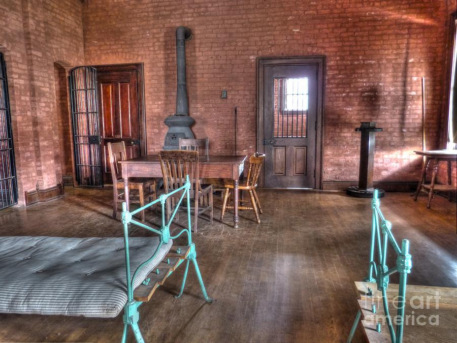Mj Olsen Photograph - Guard Shack Day Room by MJ Olsen