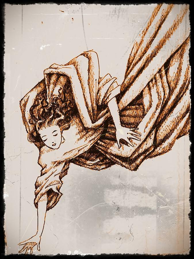 Angel Of Help Digital Art - Guardian Angel by Paulo Zerbato